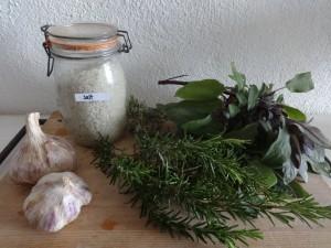 2 sage rosemary salt