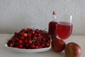 Bounty from the heart of French cherry country