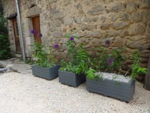 repainting planters