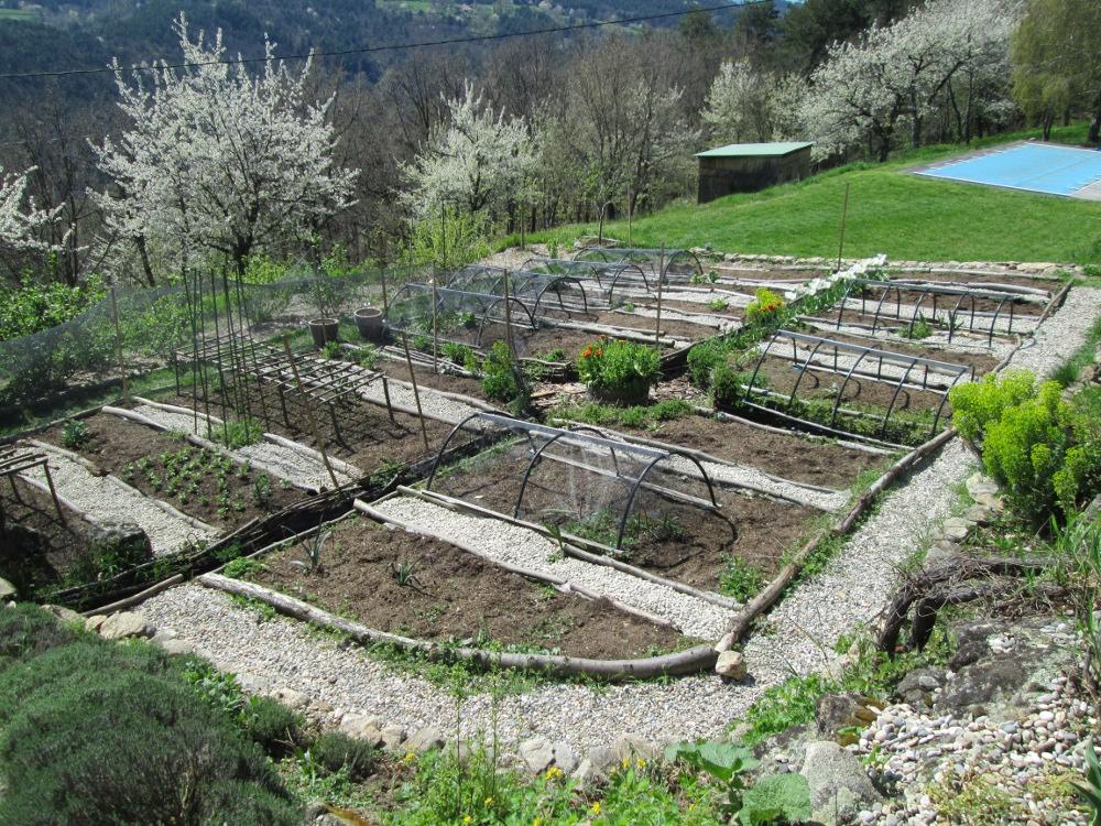 2013 spring potager