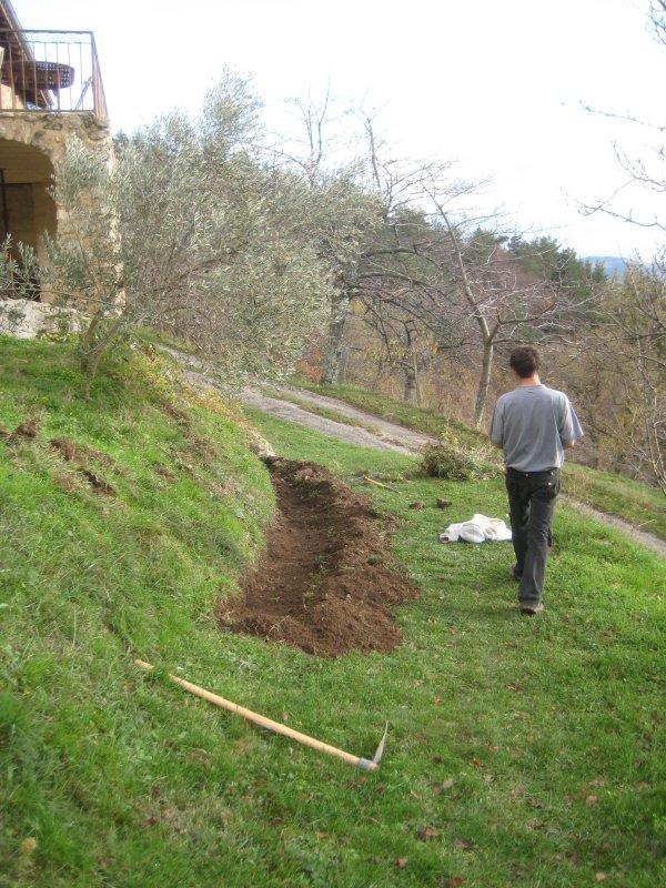 3 2010 nico building new retaining wall
