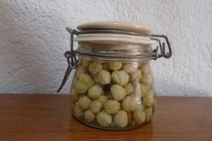 Pickling nasturtium pods