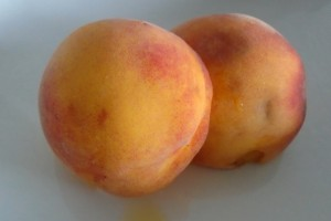 Peaches from the orchard
