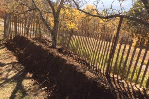 Creating a permaculture bed