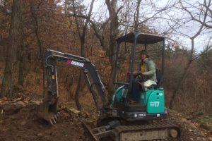 Bulldozer work
