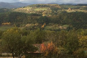 Autumn colours in the Ardèche
