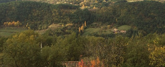 Autumn colours in the Ardèche