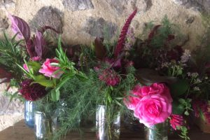 Amaranth in flower arranging