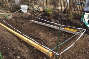 Building permaculture beds #1
