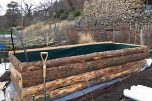 Building permaculture beds #2